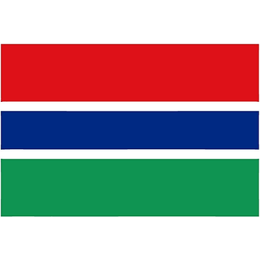 International Flag, Gambia, 36