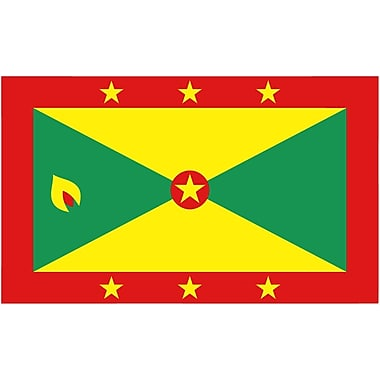 International Flag, Grenada, 36