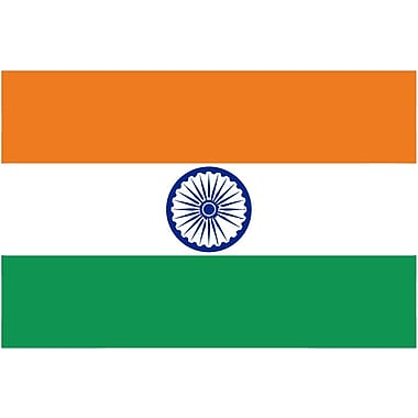 International Flag, India, 4