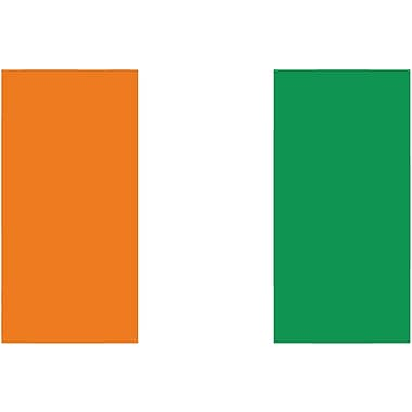 International Flag, Ivory Coast, 36