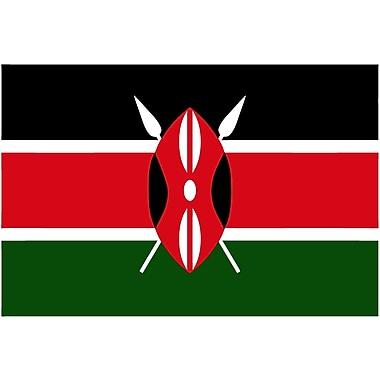 International Flag, Kenya, 36