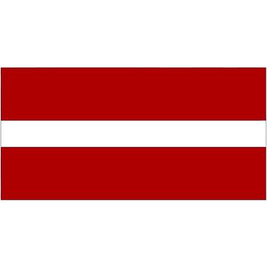 International Flag, Latvia, 36