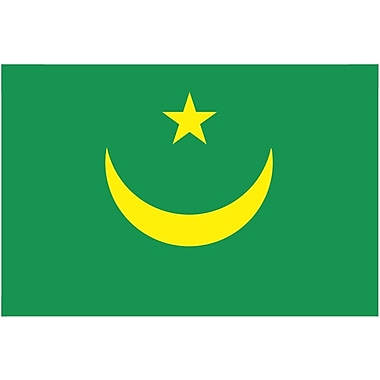 International Flag, Mauritania, 4
