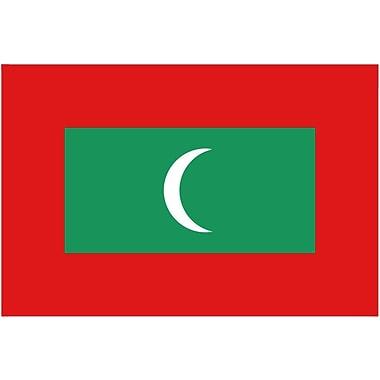 International Flag, Maldives, 36