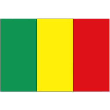 International Flag, Mali, 36