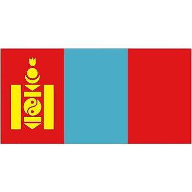 International Flag, Mongolia, 36