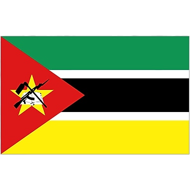 International Flag, Mozambique, 36