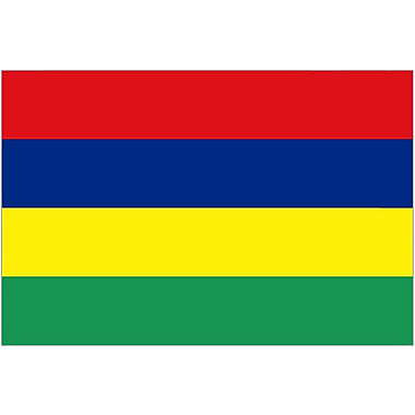 International Flag, Mauritius, 36