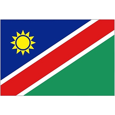 International Flag, Namibia, 36