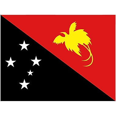 International Flag, Papua New Guinea, 4