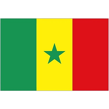 International Flag, Senegal, 36