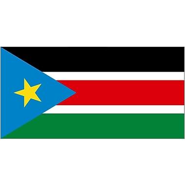 International Flag, South Sudan, 4