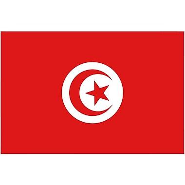 International Flag, Tunisia, 4