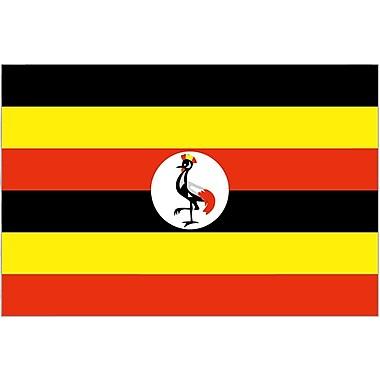 International Flag, Uganda, 36