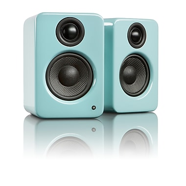 Kanto YU2 Powered Desktop Speakers, Gloss Teal