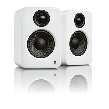 Kanto YU2 Powered Desktop Speakers, Matte White