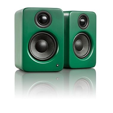 Kanto YU2 Powered Desktop Speakers, Matte Green