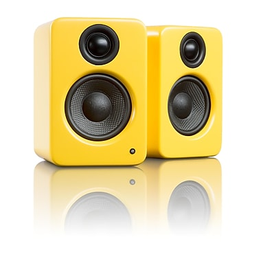 Kanto YU2 Powered Desktop Speakers, Matte Yellow