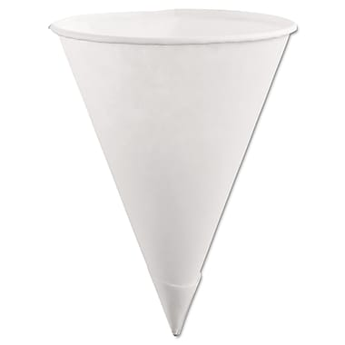 Rubbermaid® Paper Cone Cup, 6 oz., White, 200/Pack