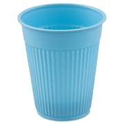 Solo® Plastic Medical and Dental Disposable Cup, 5 oz., Sky Blue, 100/Pack