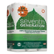 Seventh Generation® 2 Ply Bathroom Tissue, White, 300 Sheets Per Roll