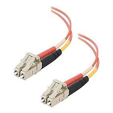 C2G® MultimodeFiber Optic Cable, 12 m, Orange