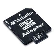 Verbatim® - Carte MicroSDXC classe 10 UHS-1, 64 Go