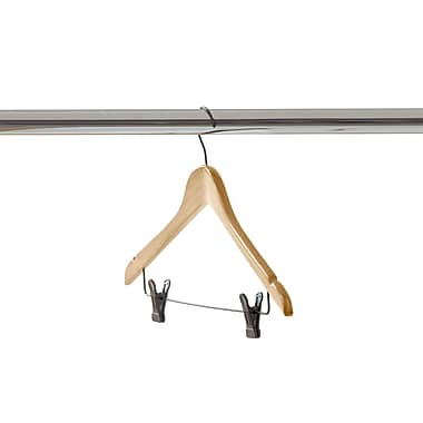 Neatfreak® Wooden Hook Type Skirt Hanger, Natural