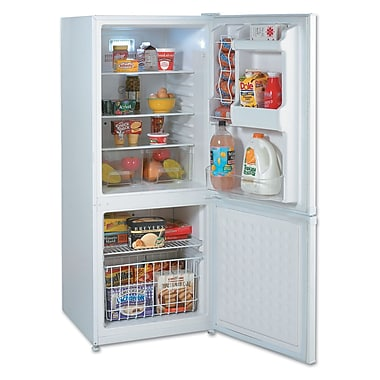 Avanti® FFBM922W 9.2 cu. ft Bottom Mount Frost-Free Freezer/Refrigerator, White