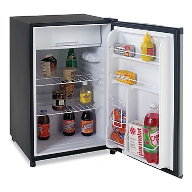 Avanti® RM4536SS 4.5 cu. ft Counter Height Refrigerator, Black/Stainless Steel