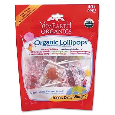 YumEarth Assorted Flavors Organics Lollipops, 8.5 oz. Bag