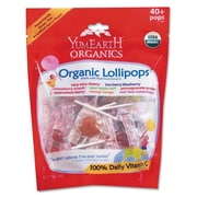 YumEarth Assorted Flavors Organics Lollipops, 8.5 oz. Bag