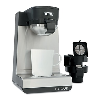 Bunn® My Cafe® Stainless Steel Single-Serve Coffee Brewer, Black