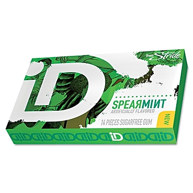 Stride® Spearmint iD Sugar-Free Gum, 0.998 oz. Box