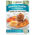 GoPicnic® Ready-To-Eat-Meals, Peanut Butter and Crackers