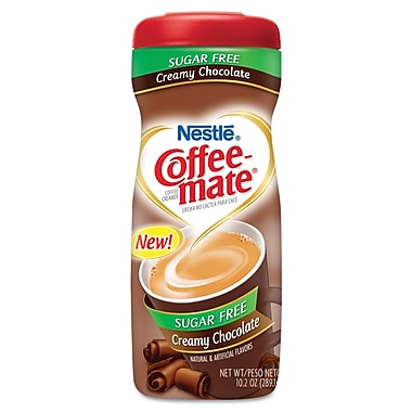 Nestlé Coffee-mate® Sugar-Free Creamy Chocolate Flavored Powdered Coffee Creamer, 10.2 oz.