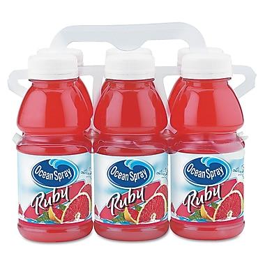 Ocean Spray® Red Ruby Grapefruit Juice, 10 oz. Bottle, 6/Pack