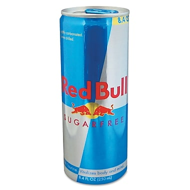 Red Bull® Sugar-Free Energy Drink, 8.4 oz. Can, 24/Pack