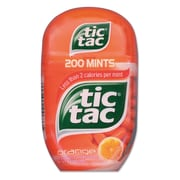 Tic Tac® Orange Breath Mints, 4/Box