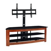 Walker 60 Wood TV Stand With Mount, Cherry