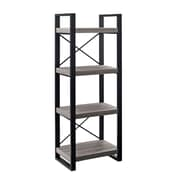 "Walker 58"" Urban Wood Media Tower, Gray"