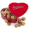 MRS. FIELDS® 60 NIBBLERS® HEART TIN