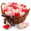 Deluxe Mrs. Fields® Valentine's Hand-Frosted Cookie Basket