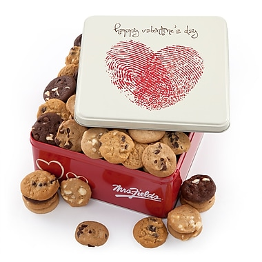 Mrs. Fields® 112 Nibblers® Valentine's Tin