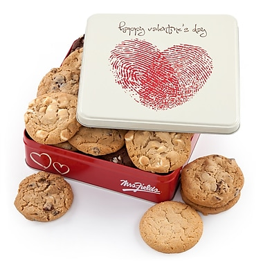Mrs. Fields® 12 Cookie Valentine's Tin