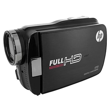 HP® Full HD 32MB Memory Digital Camcorder With 3in. LCD Screen, Black