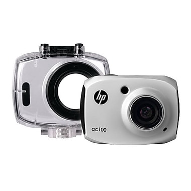 HP® Full HD Action Waterproof Camcorder With 2.4in. LCD Screen, White