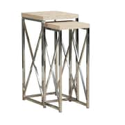 Monarch Plant Stand 2 Piece  Natural