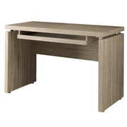 Monarch Reclaimed-Look Wood Computer Desk Natural
