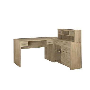 Monarch Reclaimed-Look L Shaped Desks